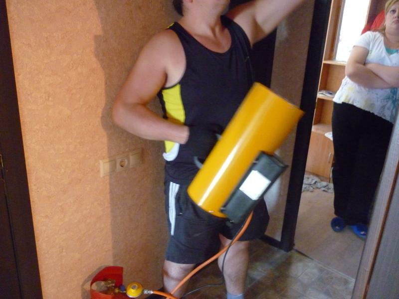 Использование газового генератора Фото №6