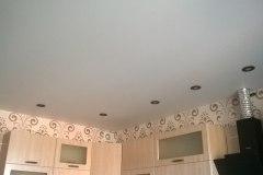 Матовый потолок 8