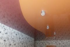 Потолок с криволинейной спайкой 3
