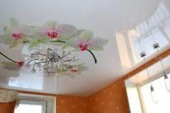 Потолок с фотопечатью 6